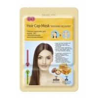 Маска-шапочка для волос 2в1 «Интенсивное восстановление»